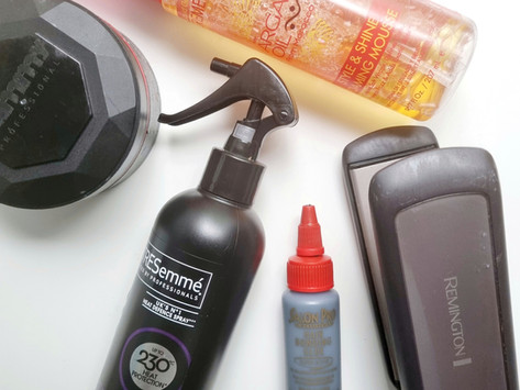 Bun & bangs- my essential products