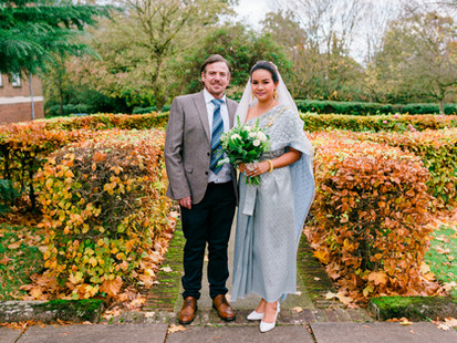 INTIMATE HERTFORD WEDDING - BEN & JIN