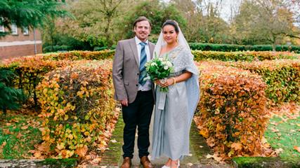 INTIMATE HERTFORD WEDDING - BEN & JIN