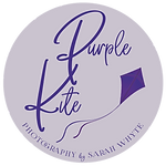 Purple Kite simple logo V2 mauve purple.
