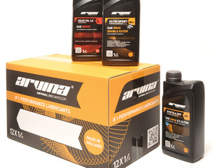 New packaging Arvina Lubricants