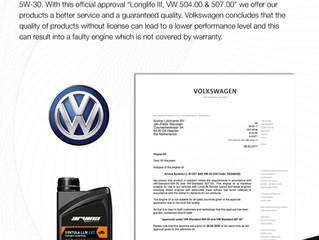 VW AUDI APPROVAL 504.00 & 507.00