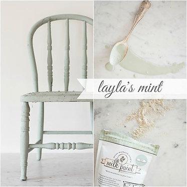peinture au lait Miss MS Layla's Mint