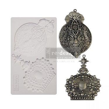 Moule silicone 'Victorian adornments'