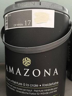 off white 17 (blanc cassé) peinture à la craie amazona