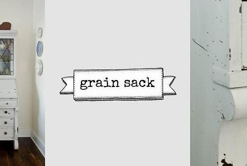 peinture au lait Miss MS grain sack