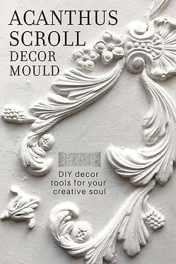 Moule silicone 'Acanthus Scroll'