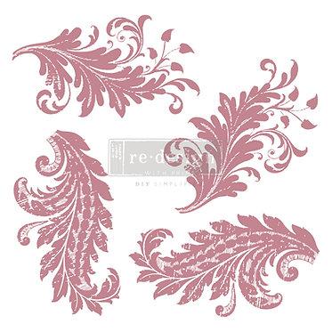 Tampon 'Royal Florish', Redesign by Prima
