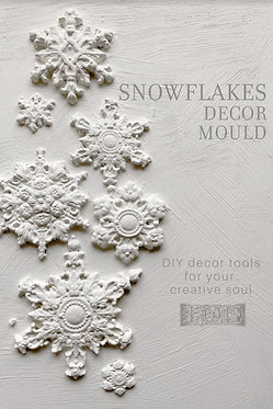 Moule silicone 'Snowflakes'