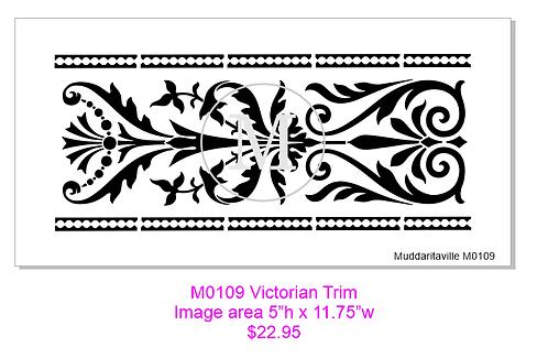 Bord décoratif Victorien