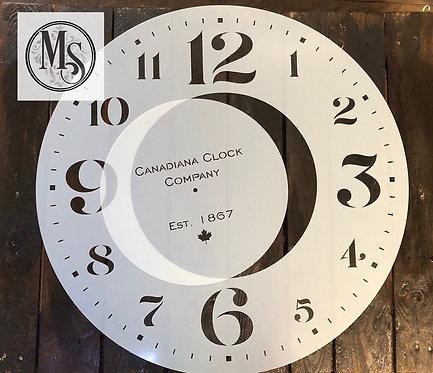 horloge murale 60cm 'Canada'