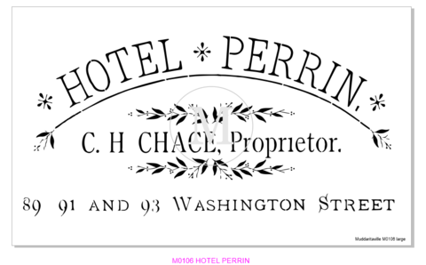Hotel Perrin - Large M0106