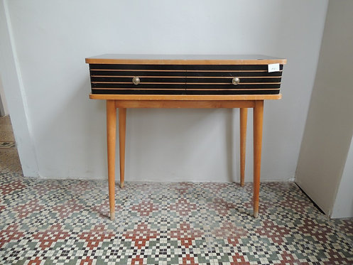 commode retro 2 tiroirs