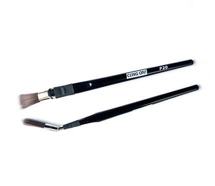 Pinceau courbé 'Radiateur' Bent Brush P20, Cling On
