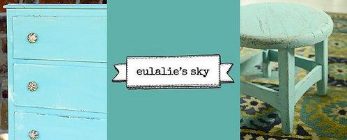 peinture au lait Miss MS Eulalie's sky