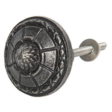 bouton de porte en métal