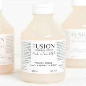 Vernis mat polyuréthane 'Tough Coat', Fusion