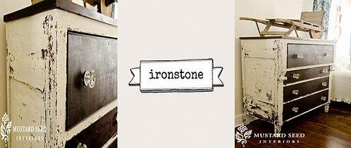 peinture au lait Miss MS Ironstone