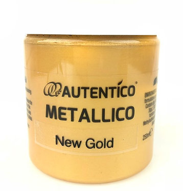 Metallico New Gold, Autentico, 250 ml