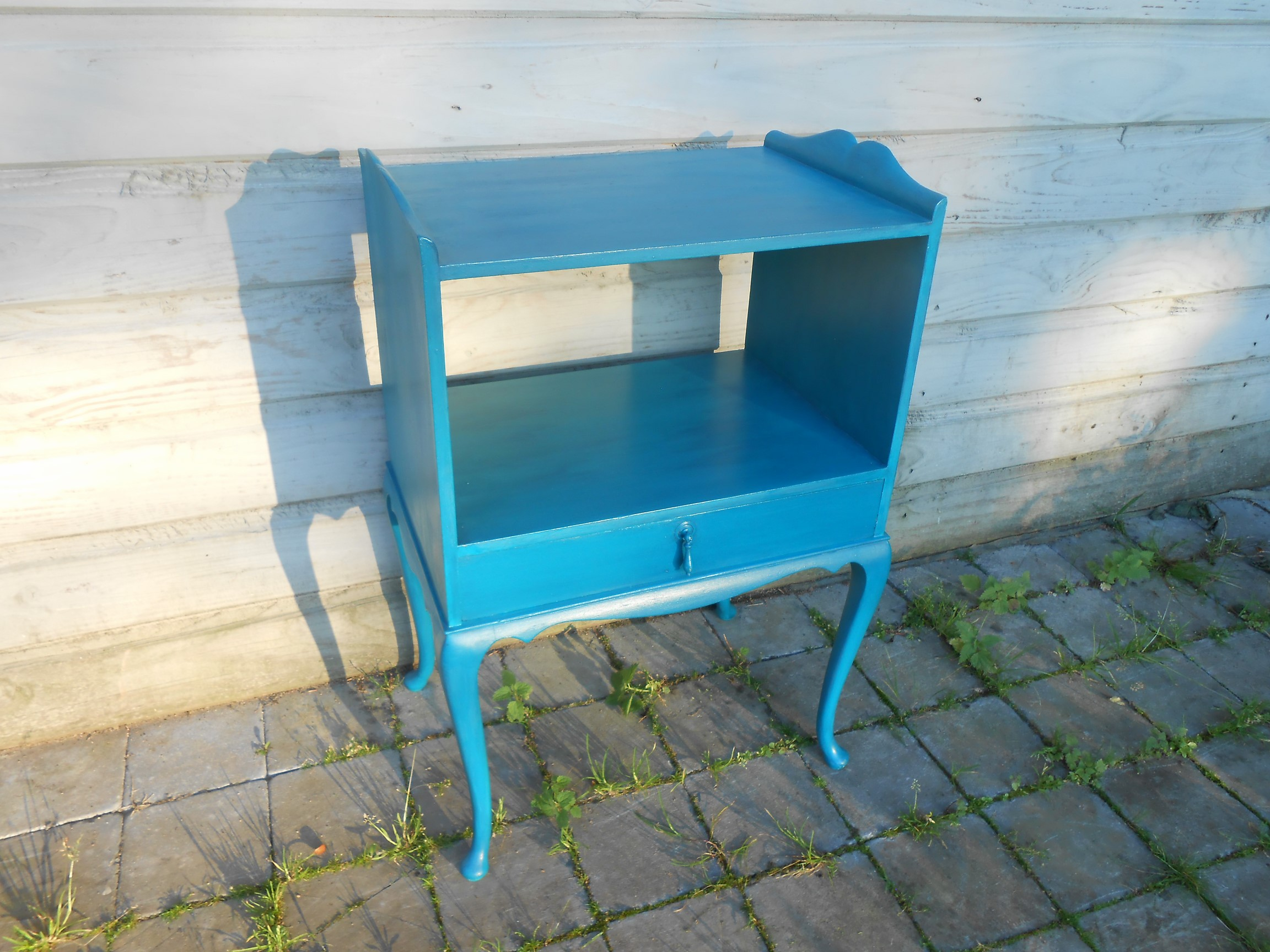 armoire d'appoint turquoise profond 1-1.