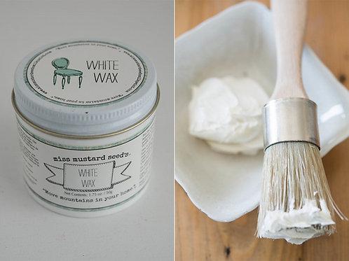 """cire blanche Miss Mustard Seeds """"white wax"""""""
