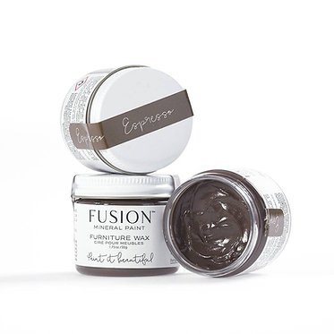 Cire brune pour meubles 'Espresso Wax' 50 gr