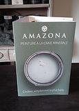Amazona peinture à la craie