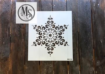 Mandala  Flocon de neige M0238