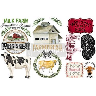 Home & farm, transfert redesign