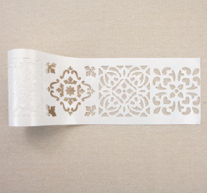 Casablanca Tile, pochoir adhésif Stick & Style Redesign