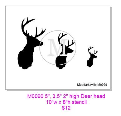 Têtes de cerf M0090A