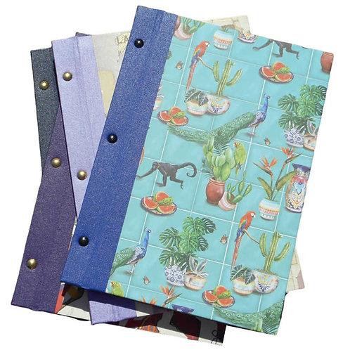 post bound notebook - A4