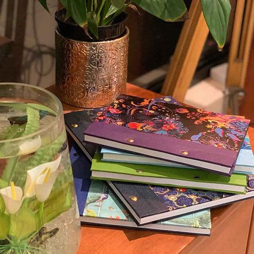 post bound notebook - A5