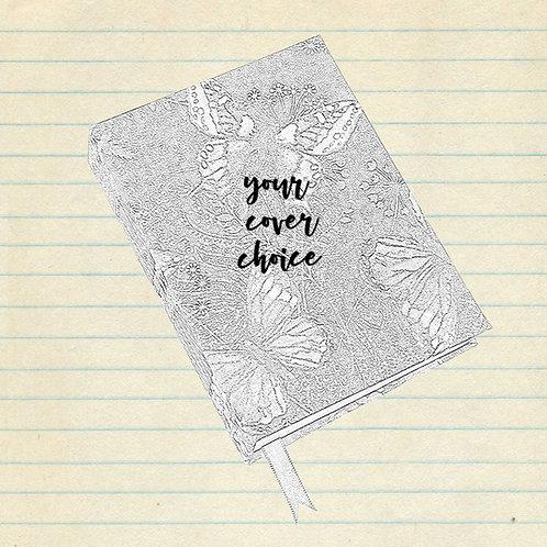 gratitude journal - custom design