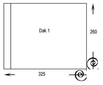 book size dak1