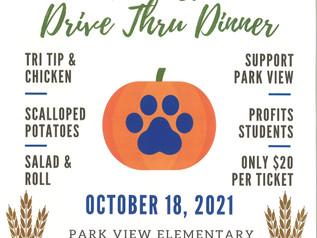Harvest Drive Thru Dinner - 10/18/21