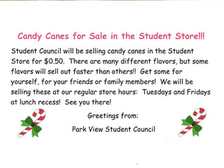 Candy Canes for Sale...$.50