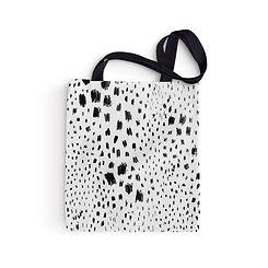 Černé skvrny Tote Bag