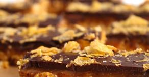 Chocolate Caramel Cornflake Bars