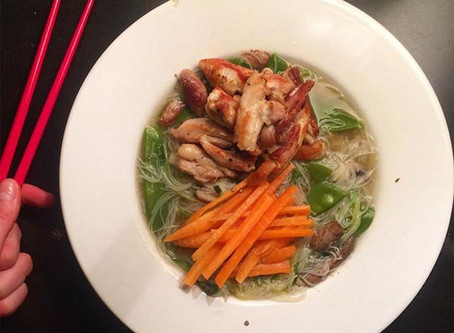RECIPE: Chicken Rice Noodle Bowl