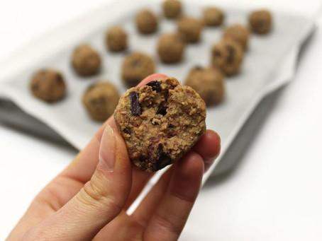 RECIPE: Protein Cookie Dough Balls