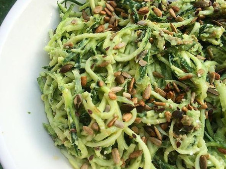 RECIPE: Creamy Avocado and Lemon Courgetti