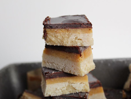 RECIPE: Salted Caramel Shortbread