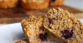 RECIPE: Banana and Blueberry Muffins