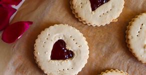 Jammy Shortbread Biscuits