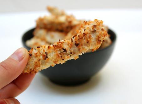 RECIPE: Crispy Coconut Chicken Strips