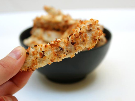 RECIPE: Crispy Coconut Chicken Strips