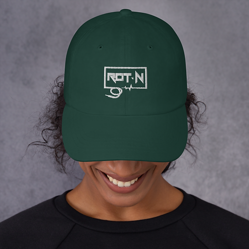 "RottenMynded ""Classic Rot~N"" Dad Hat"