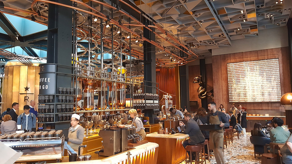 Starbucks, The Roastery in Milan