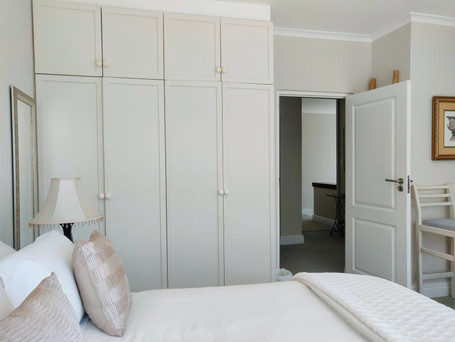 2nd Bedroom with built-in cupboards